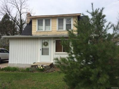 Ann Arbor, Ann Arbor (c), Ann Arbor Twp, Ann Arbpr Single Family Home For Sale: 3546 Platt Road