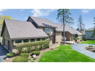 West Bloomfield, West Bloomfield Twp Single Family Home For Sale: 2070 W Long Lake Road