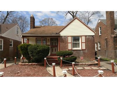 Detroit Single Family Home For Sale: 16607 Murray Hill Street