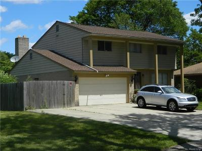 Southfield Single Family Home For Sale