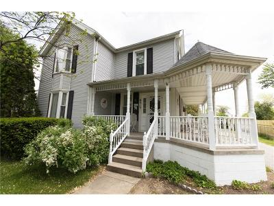 Van Buren, Van Buren Twp Single Family Home For Sale: 6315 Denton Road