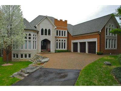 West Bloomfield, West Bloomfield Twp Single Family Home For Sale: 5573 Middlebelt Road