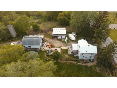 Washtenaw County Single Family Home For Sale: 2730 E North Territorial Road