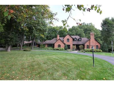 West Bloomfield Twp Single Family Home For Sale: 3622 Northwood