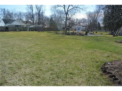 Royal Oak Residential Lots & Land For Sale: 1622 Ottawa (Parcel 2) Drive