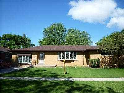 Dearborn Heights Single Family Home For Sale: 3924 Tulane