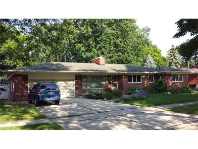 Trenton Single Family Home For Sale: 2337 Ashby Street