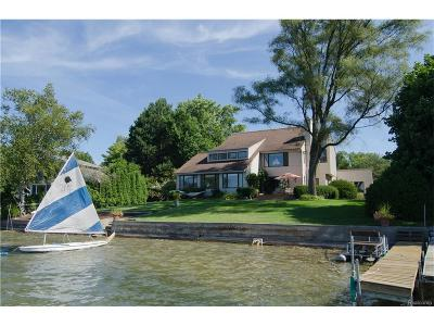 West Bloomfield, West Bloomfield Twp Single Family Home For Sale: 6549 Alden Drive