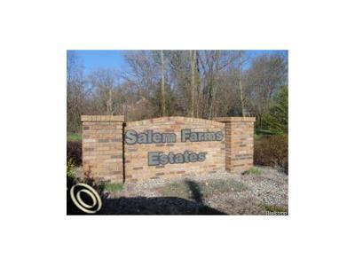 Milan Twp, Salem, Salem Twp, Milan, Milan Township Residential Lots & Land For Sale: 6761 Harvest Court