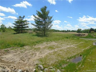 Hartland Twp Residential Lots & Land For Sale: Parcel A Hacker Road