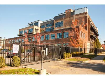 Detroit Condo/Townhouse For Sale: 444 W Willis Street #302