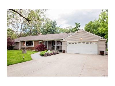 Northville Single Family Home For Sale: 46200 Sunset Street