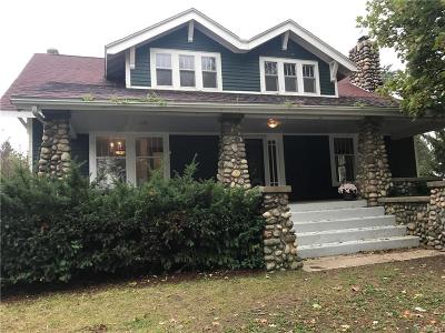 Single Family Home For Sale: 6091 Maybee Road