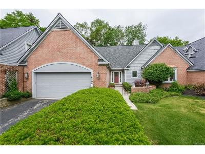 Northville Twp Condo/Townhouse For Sale: 16200 Lairdhaven Drive