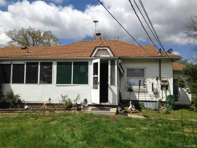 Huron Twp Single Family Home For Sale: 26854 Waltz Road