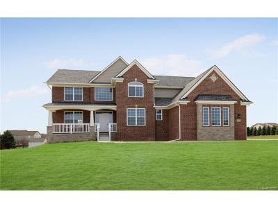 Hartland Twp Single Family Home Sold: 8830 Bridlewood Trail