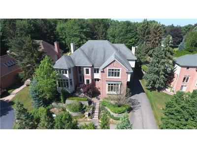 West Bloomfield Twp Single Family Home For Sale: 6608 Minnow Pond Drive