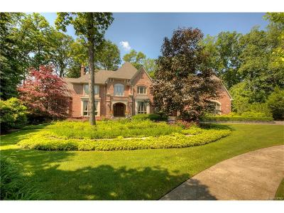 Novi Single Family Home For Sale: 48075 Bellagio Court