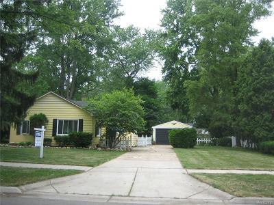 Farmington Single Family Home For Sale: 23097 Hawthorne Street