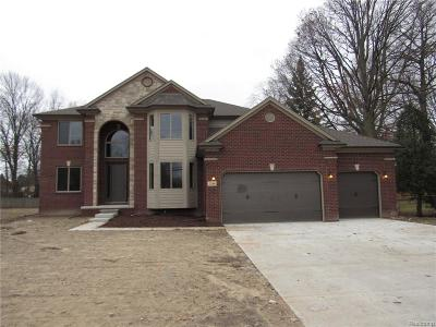 Shelby Twp MI Single Family Home For Sale: $429,900
