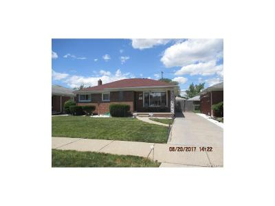 Eastpointe Single Family Home For Sale: 16525 Stricker Avenue