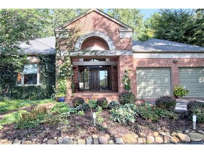 West Bloomfield, West Bloomfield Twp Single Family Home For Sale: 4687 Lockhart Street