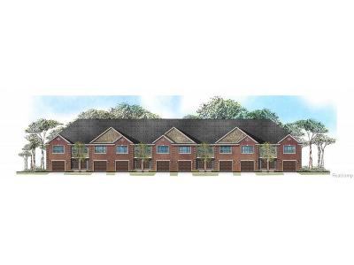 Novi Multi Family Home For Sale: Proposed 10 Townhomes Beck (Proposed Development) Road