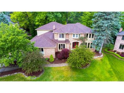 Rochester Hills Single Family Home For Sale: 1660 Park Creek Court