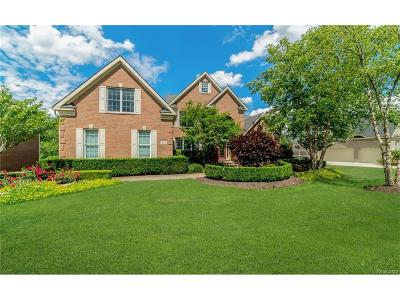 Northville Twp Single Family Home For Sale: 15892 Crystal Downs E