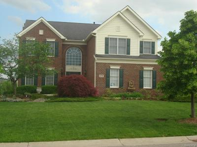 Northville Single Family Home For Sale: 45795 Riviera