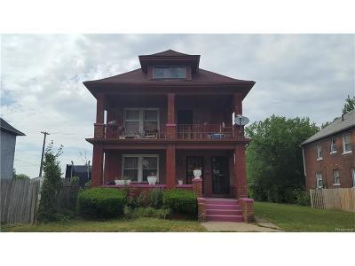Highland Park Multi Family Home For Sale: 254 Avalon Street