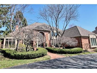 Bloomfield Twp MI Single Family Home For Sale: $1,099,000