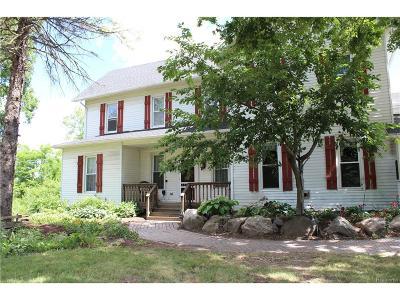 Washtenaw County Single Family Home For Sale: 2015 E North Territorial Road