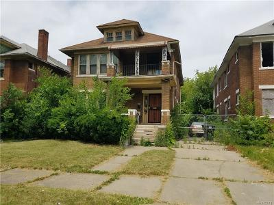 Macomb County, Oakland County, Wayne County Multi Family Home For Sale: 4522 Seebaldt Street