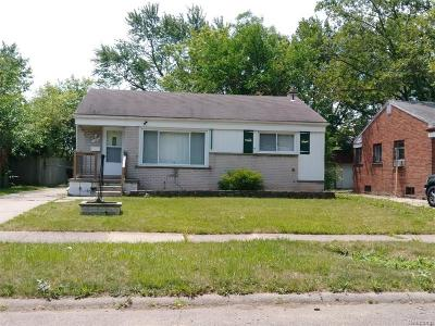 Inkster Single Family Home For Sale: 1960 Lexington Parkway