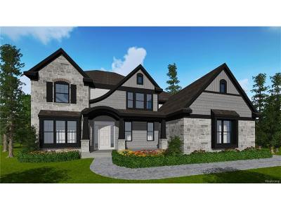 Commerce Twp Single Family Home For Sale: 6789 Ashton Park Drive
