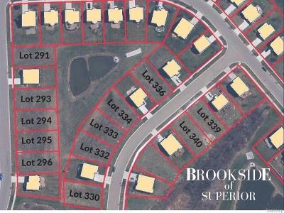 Superior, Superior Twp Residential Lots & Land For Sale: 8855 Somerset Lane