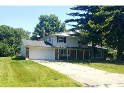 West Bloomfield, West Bloomfield Twp Single Family Home For Sale: 3726 Fife Lane