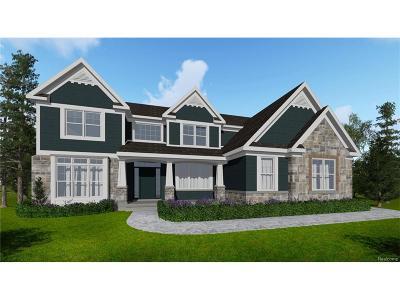 Commerce Twp Single Family Home For Sale: 12345 Ashton Park Drive