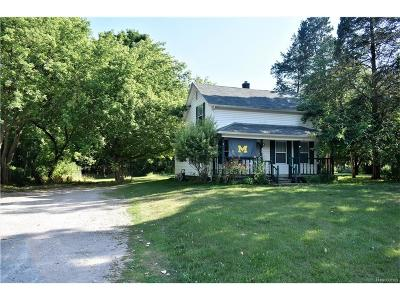 Commerce Single Family Home For Sale: 801 W Commerce Road