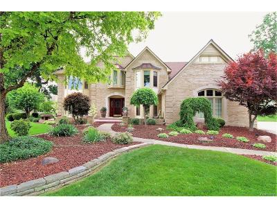 Bloomfield Twp Single Family Home For Sale: 1037 Clear Point Court
