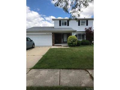 Sterling Heights Single Family Home For Sale: 4193 Dickson Drive