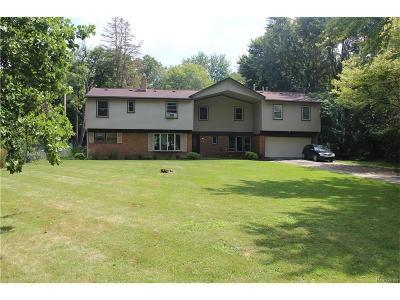 Farmington Hills Single Family Home For Sale: 22160 Hamilton Avenue