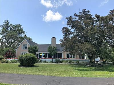 Grosse Ile Twp MI Single Family Home For Sale: $459,900
