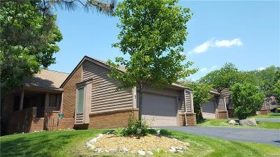 Farmington, Farmington Hills Condo/Townhouse For Sale: 35538 Lark Harbor Court