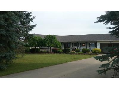 Lapeer County Single Family Home For Sale: 6845 Wagner Road