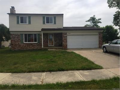 Sterling Heights Single Family Home For Sale: 4489 Count Court