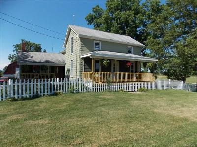 Genesee County Single Family Home For Sale: 11329 Coolidge Road