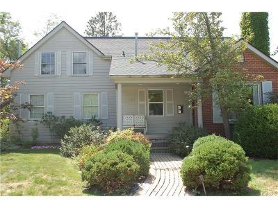 Birmingham Single Family Home For Sale: 1786 Villa Road