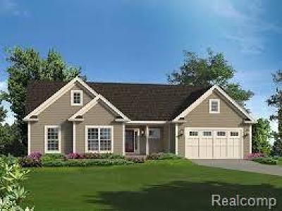 Commerce Twp Single Family Home For Sale: 2832 Alorington Court